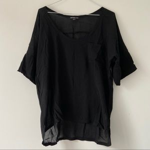 James Perse Soft Woven Pocket Tee